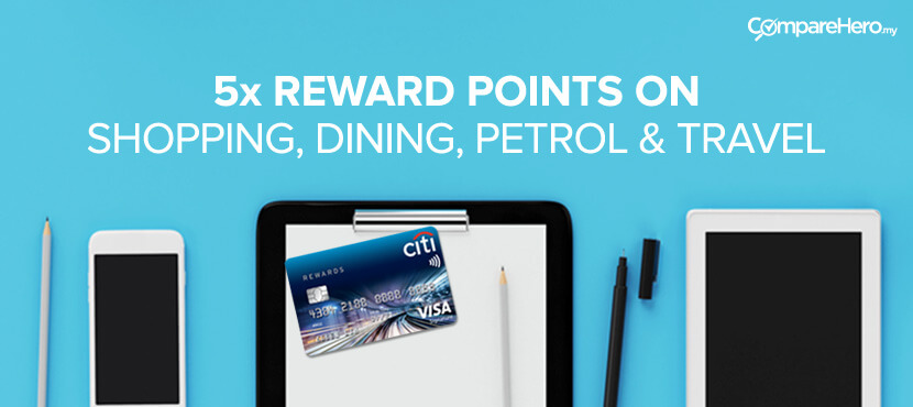 Apply for Citibank Credit Card at CompareHero.my