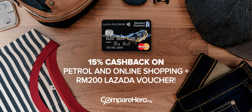 free lazada vouchers from standard chartered credit card