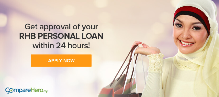 Apply for RHB Personal Loan at CompareHero.my