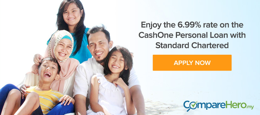 Apply for Standard Personal Loan at CompareHero.my