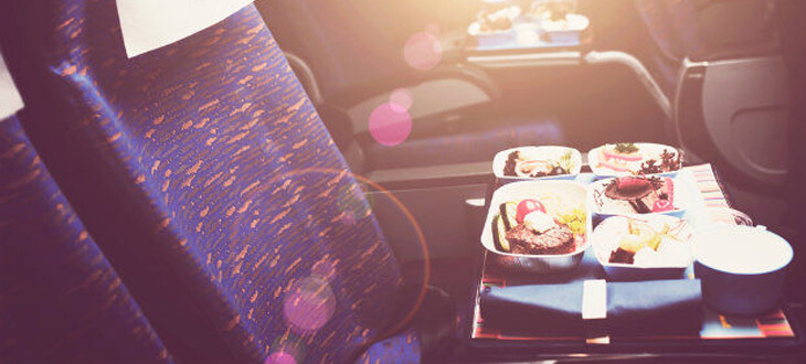 in flight meals