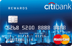 Citi Rewards Platinum Card MasterCard