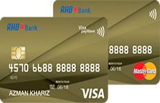 RHB Smart Value Card Visa and MasterCard