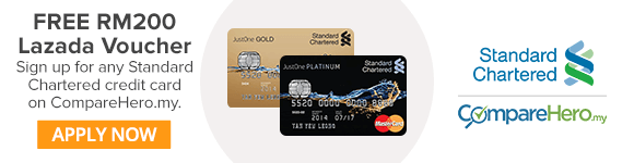 Apply for a Standard Chartered Credit Card now!