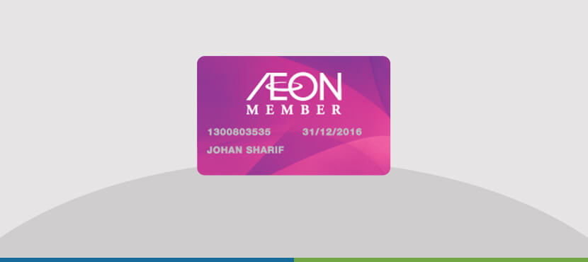 aeon loyalty card