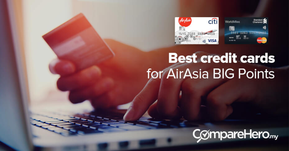 The Best Credit Cards for AirAsia BIG Points | CompareHero