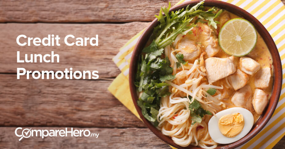 credit card lunch promotions