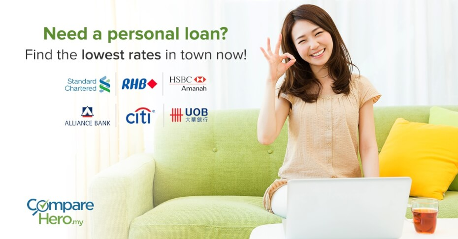 Compare Personal Loans at CompareHero.my Today