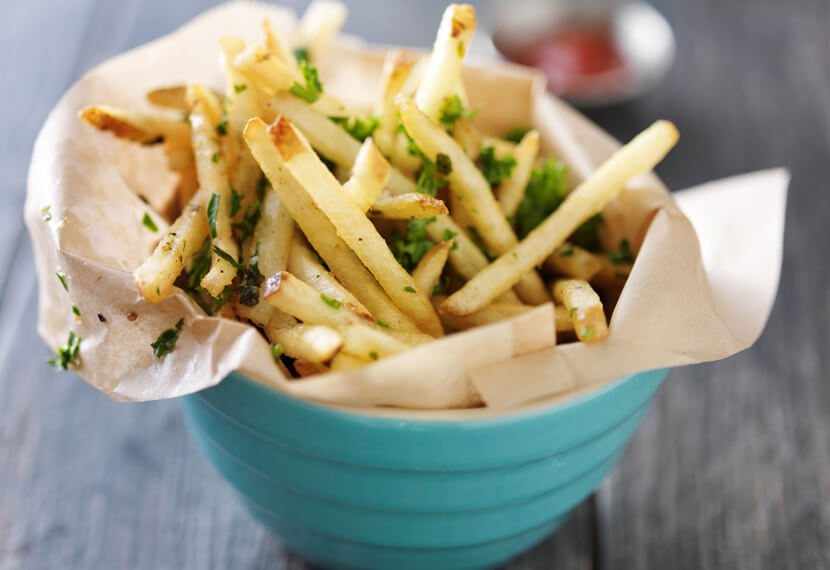 flavored fries