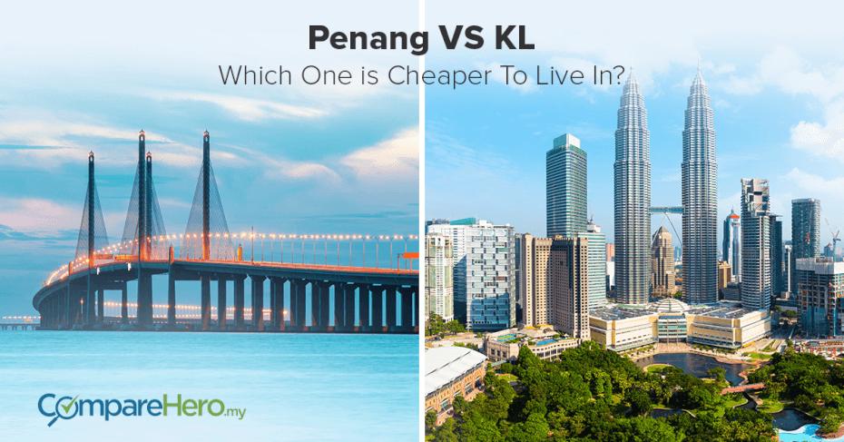 Cost of Living battle between Kuala Lumpur and Penang