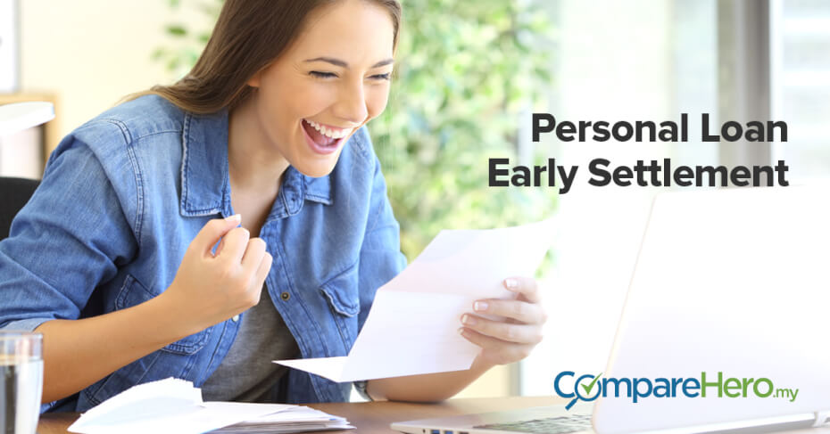 how to settle your personal loan early