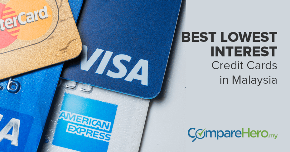 best lowest interest credit card in malaysia