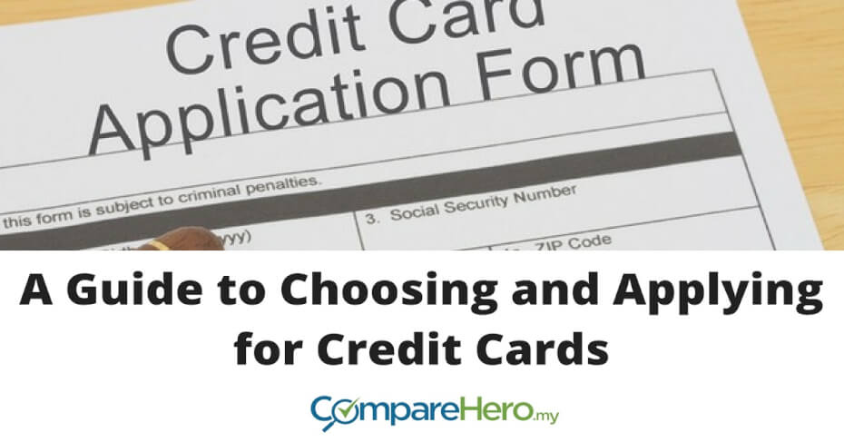 A Guide to Choosing and Applying for Credit Cards | CompareHero