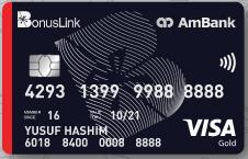 AmBank BonusLink Visa Gold