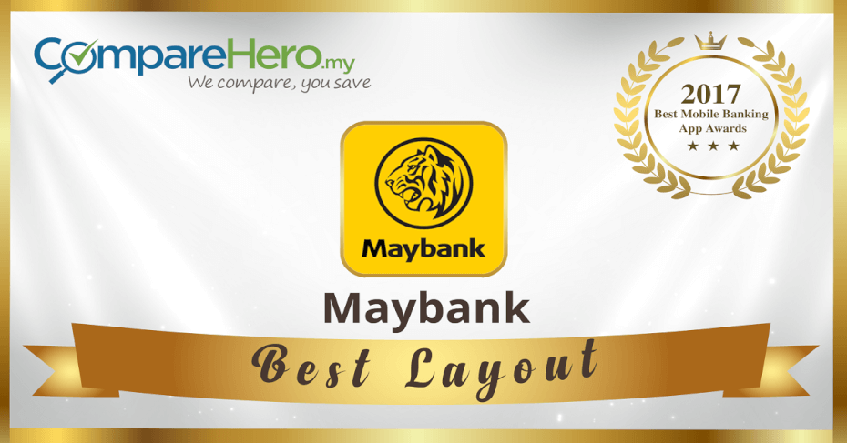 Best Layout Mobile Banking App Awards 2017