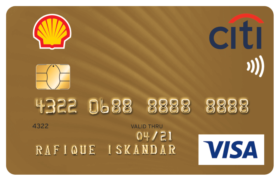 Shell-Citi Gold Credit Card Visa
