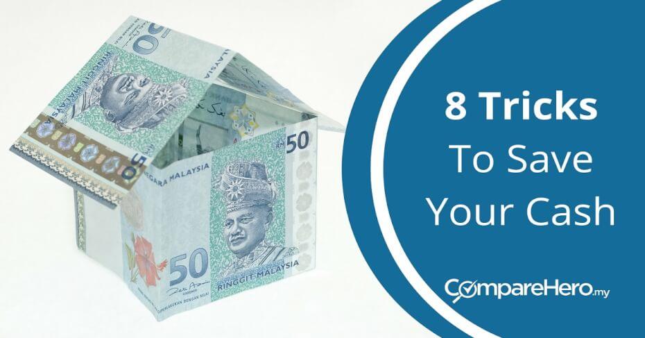 8 tricks to save money