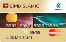CIMB Islamic Petronas MasterCard credit card