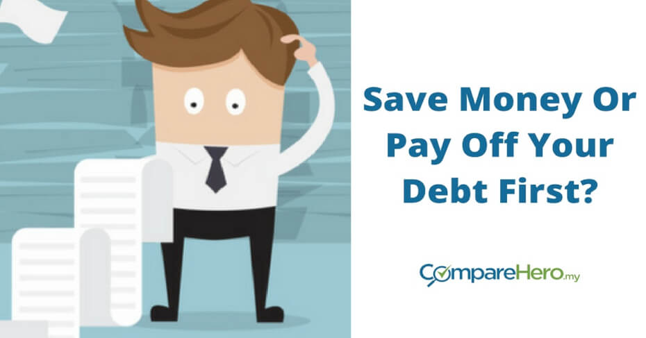 save money or pay off your debt