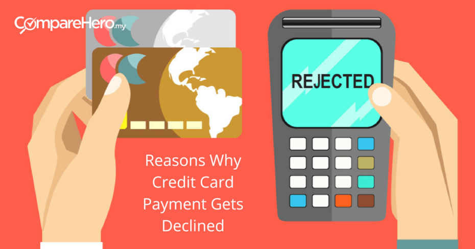 Reasons Why Credit Card Payment Gets Declined