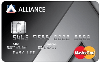 Alliance Bank MasterCard credit card