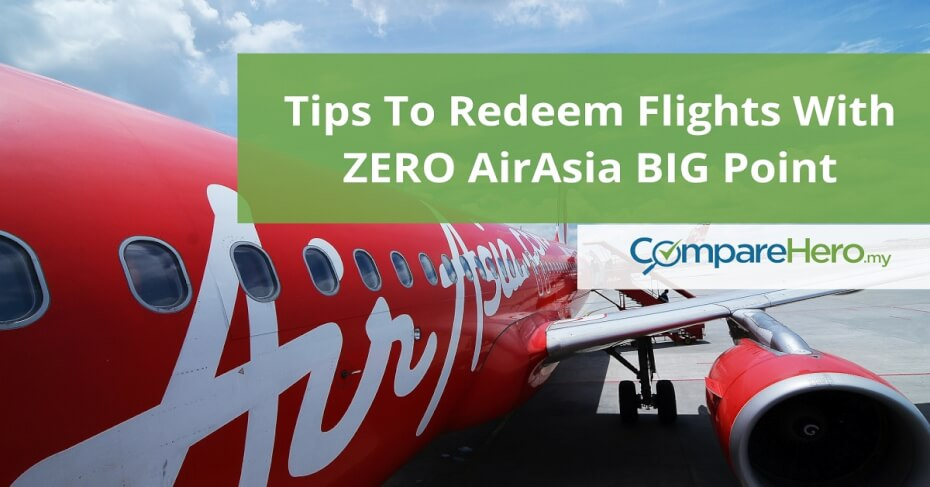 How to redeem AirAsia Flights with Zero BIG Points