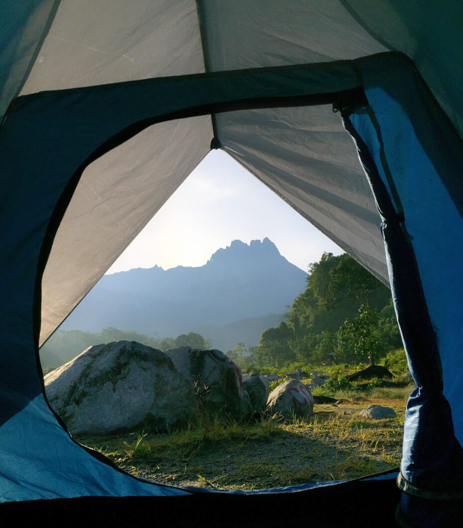 You don't have to go overseas for a camping experience like this!