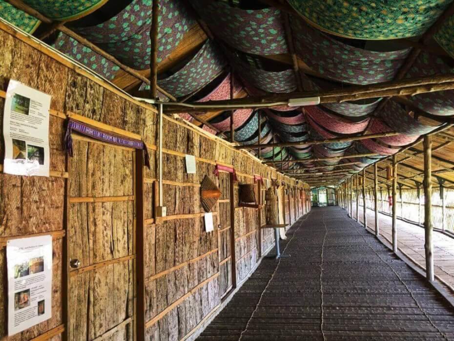 rumah panjang Sabah Tea Farm