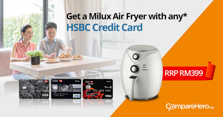 comparehero.my HSBC credit card promotion