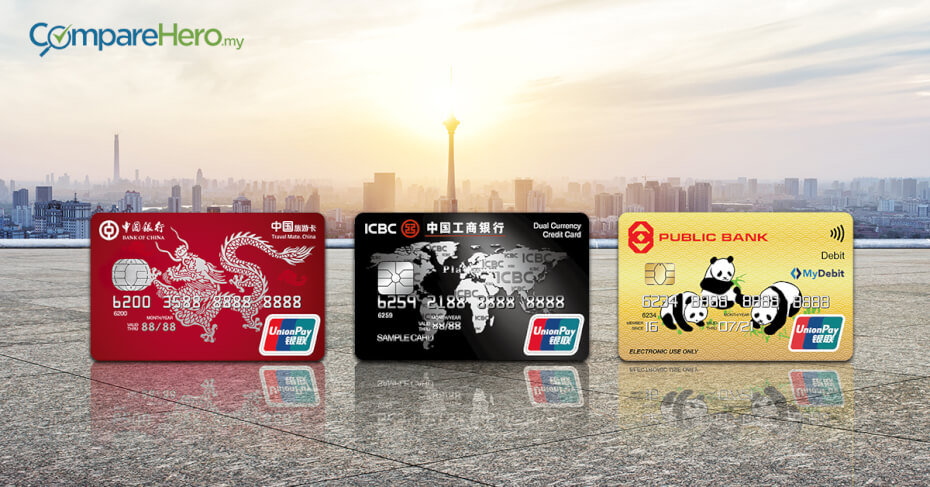 Union Pay Credit card & UnionPay Debit Card