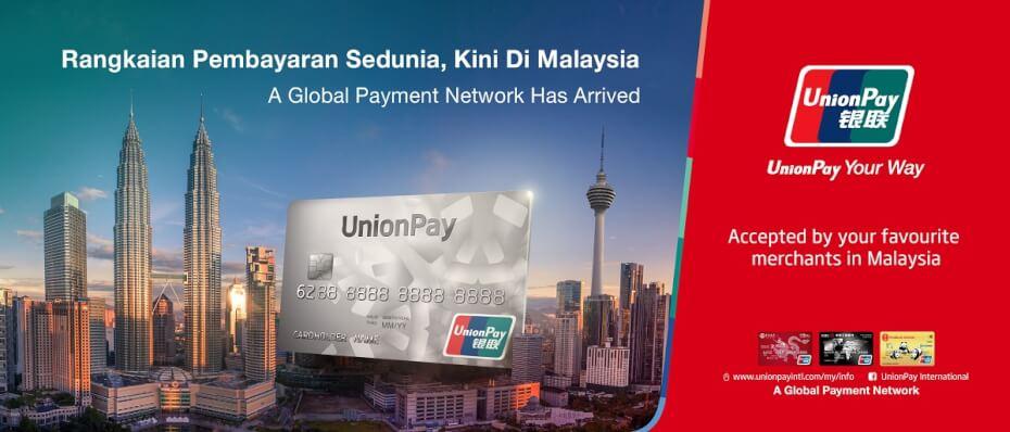 unionPay malaysia