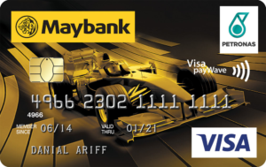maybank petronas visa credit card