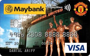 Maybank Manchester United Visa credit card