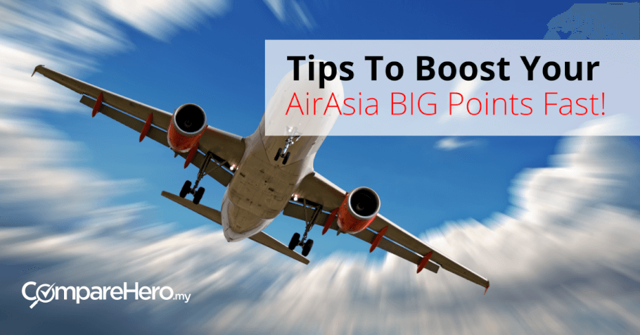 Easy Tips To Boost Your AirAsia BIG Points Fast | CompareHero