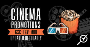 latest GSC TGV MBO cinema promotions 2019