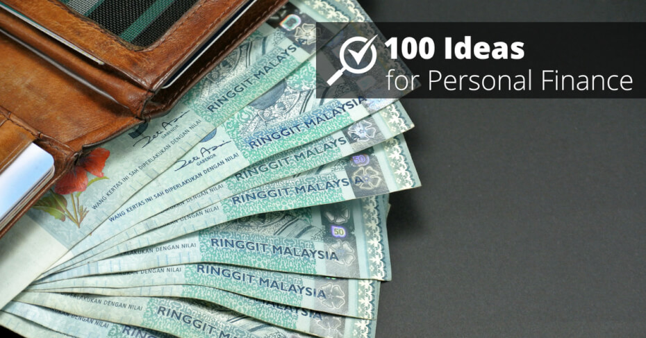 Fifty ringgit notes in an old wallet | CompareHero