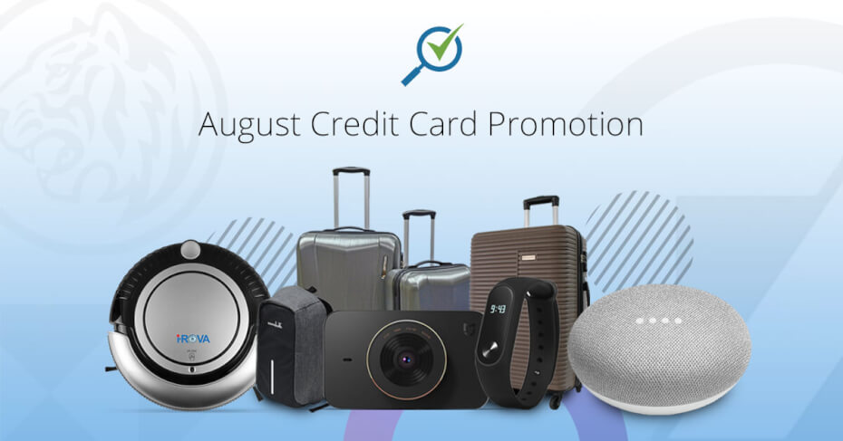 Comparehero August 2018 Credit Card Promotion