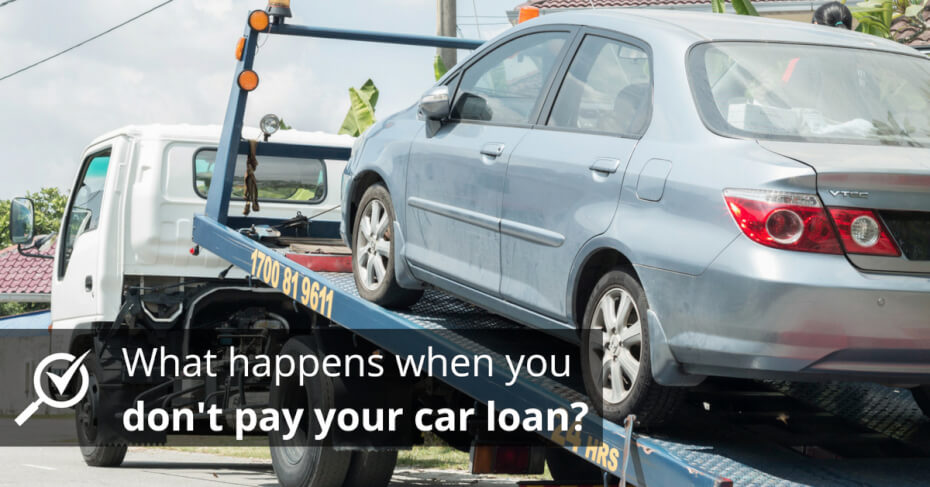 what happens when you pay your car loan