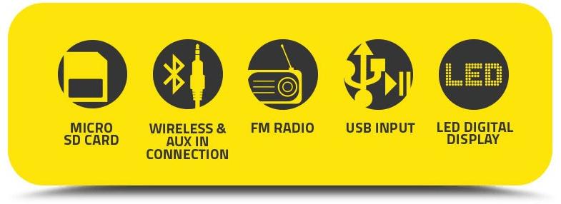 SonicGear BT2100 Soundbar 和重低音音箱