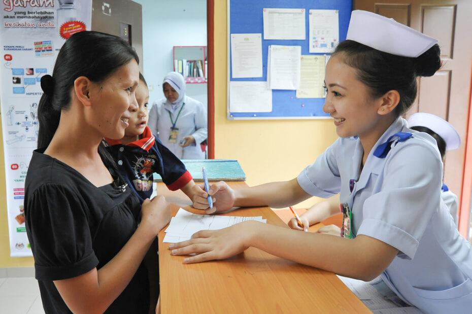 free healthcare in Malaysia