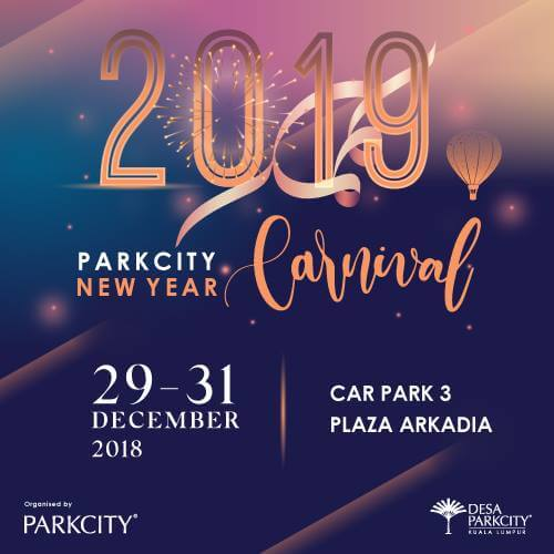 new year carnival at desa parkcity kl 2019