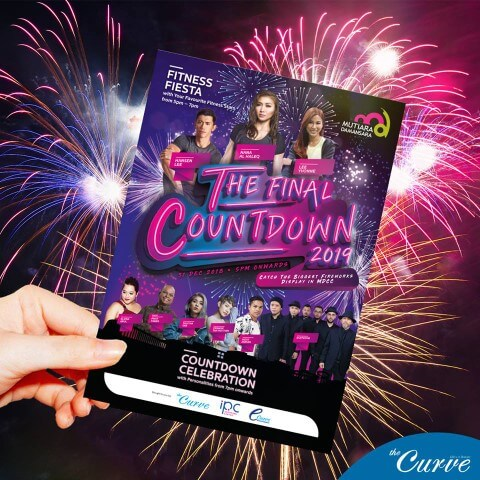 new year eve 2019 the final countdown at the curve mutiara damansara