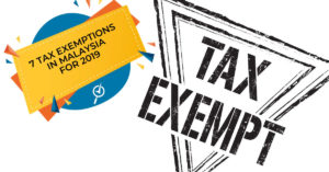 malaysia tax exemptions 2019