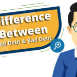 difference between good debt and bad debt