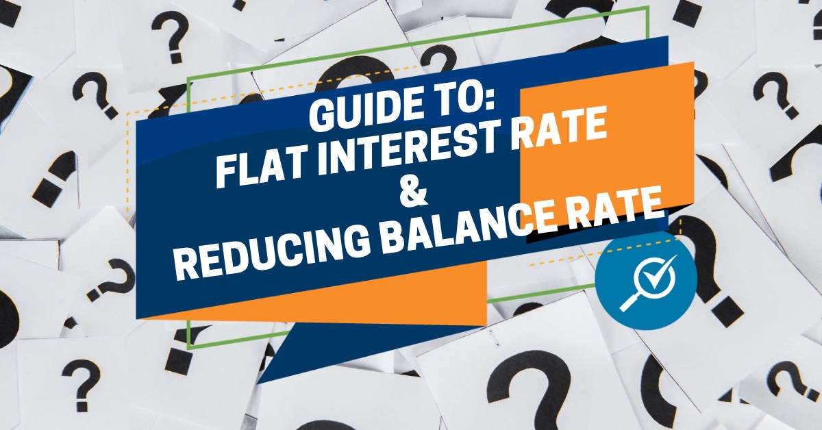 Formula Calculation Of Flat Rate Interest vs Reducing Balance