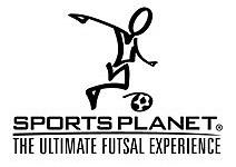 sports planet futsal logo