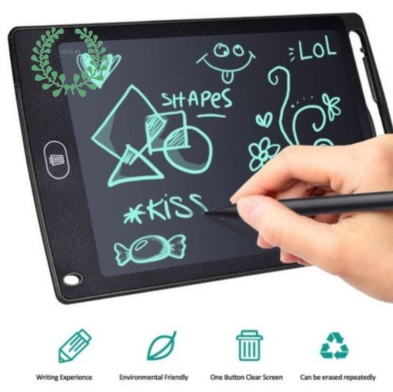 LCD Writing Tablet Pad Kid Children Drawing Board Education